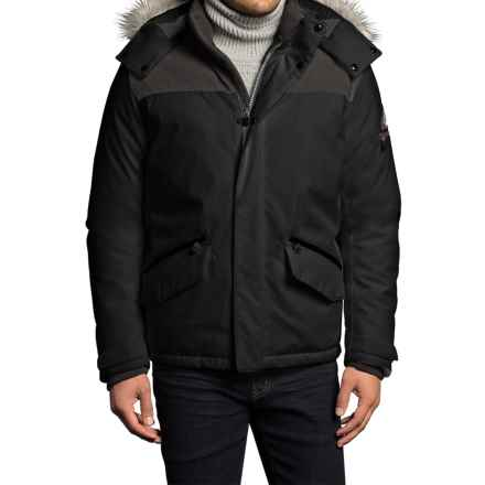 VRY WRM Free Ride Down Parka - Insulated (For Men) in Black - Closeouts