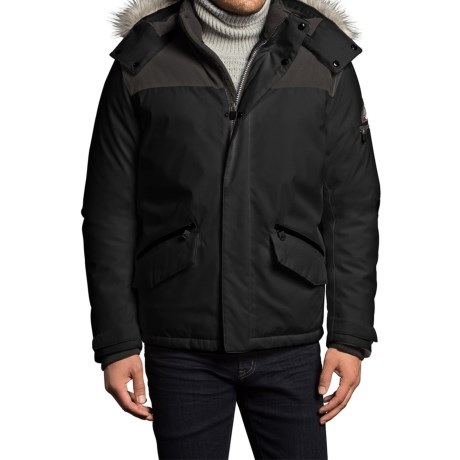 VRY WRM Free Ride Down Parka - Insulated (For Men) in Black