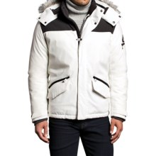 VRY WRM Free Ride Down Parka - Insulated (For Men) in White - Closeouts