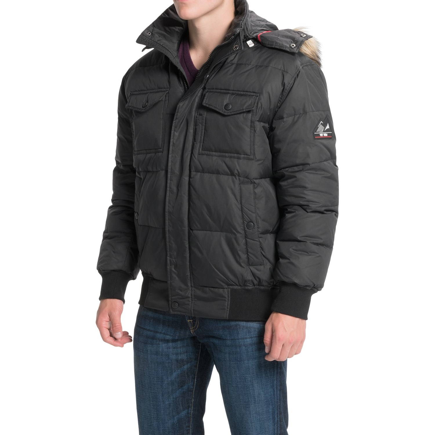 VRY WRM Lodge Down Bomber Jacket (For Men) - Save 82%
