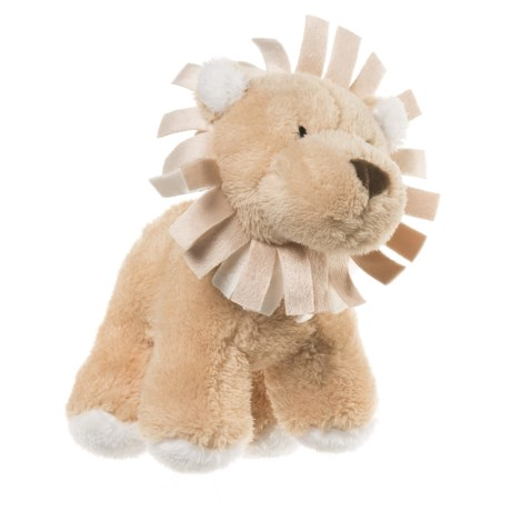 """Wags and Purrs Lion Squeaker Dog Toy - 8"""" in Multi"""