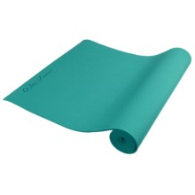 Wai Lana Incense Yoga Mat - 6mm in Aqua - Closeouts