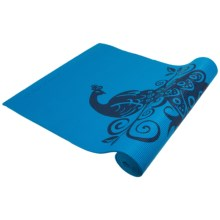 Wai Lana Incense Yoga Mat - 6mm in Himalaya Blue - Closeouts
