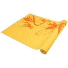 """Wai Lana Yoga Mat - 1/8"""" in Gold Hawaiian Paradise - Closeouts"""