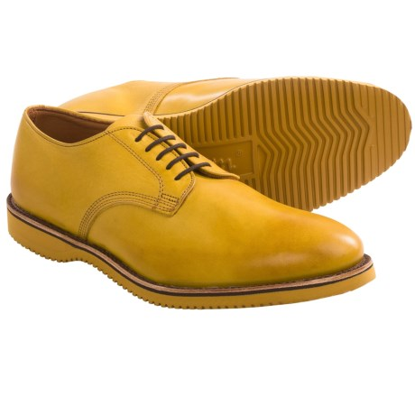 Walk-Over Chase Oxford Shoes (For Men) in Yellow