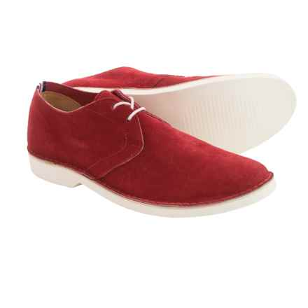Walk-Over Edward Suede Shoes (For Men) in Red Suede - Closeouts