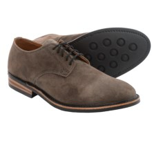 Walk-Over Kingston Suede Oxford Shoes (For Men) in Winter Smoke Suede - Closeouts