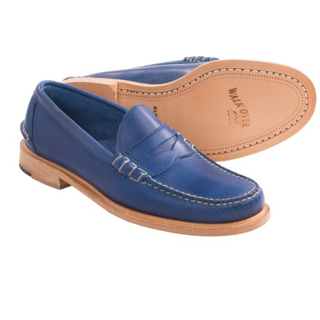 Walk-Over Martin Penny Loafers (For Men) in Blue
