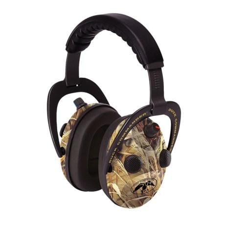 Walkers Game Ear Duck Commander Alpha 360 Hearing Amplifier in Realtree Ap