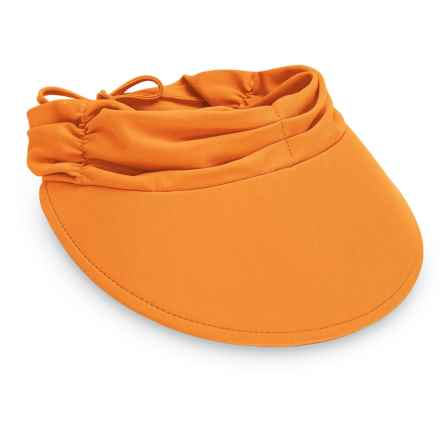 Wallaroo Aqua Visor (For Women) in Orange - Closeouts
