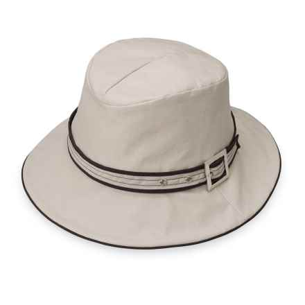Wallaroo Cascade Rain Hat - UPF 50+ (For Women) in Taupe - Closeouts