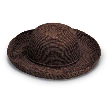 Wallaroo Catalina Sun Hat - Raffia Straw (For Women) in Brown - Closeouts