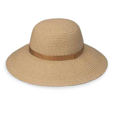 Wallaroo Stella Sun Hat - UPF 50+ (For Women) in Natural/Gold - Closeouts