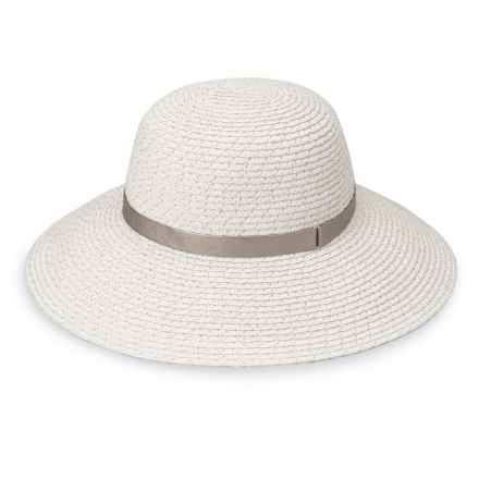 Wallaroo Stella Sun Hat - UPF 50+ (For Women) in White/Silver - Closeouts