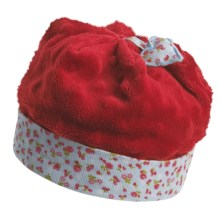 Wallaroo Strawberry Hat - UPF 50+ (For Infant Girls) in Red - Closeouts