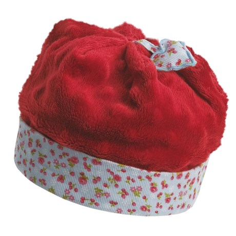 Wallaroo Strawberry Hat - UPF 50+ (For Infant Girls) in Red