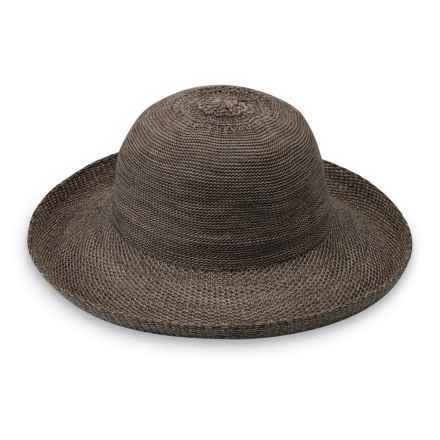 Wallaroo Victoria Sun Hat - UPF 50+ (For Women) in Mixed Brown - Closeouts