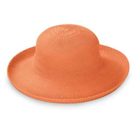 Wallaroo Victoria Sun Hat - UPF 50+ (For Women) in Orange - Closeouts