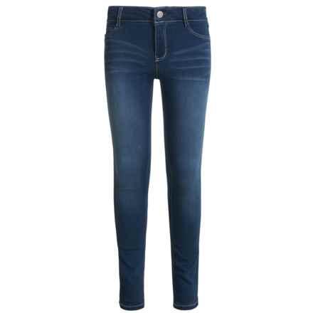 Wallflower Girl Insta-Soft Skinny Jeans (For Little Girls) in Medium Dark Wash - Closeouts