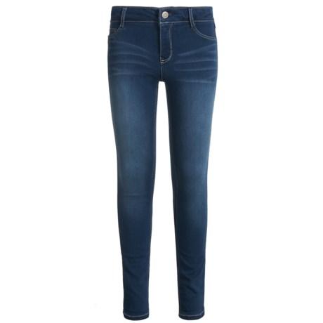 Wallflower Girl Insta-Soft Skinny Jeans (For Little Girls) in Medium Dark Wash