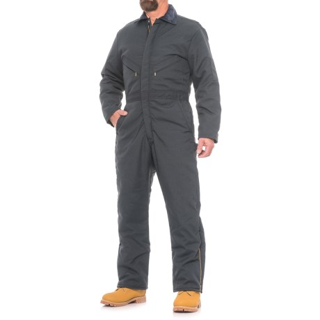 Walls Blizzard Pruf Coveralls - Insulated (For Men) in Navy