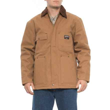 Walls Blizzard Pruf Duck Barn Coat - Insulated (For Men) in Brown - Closeouts