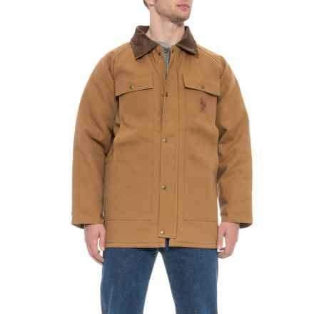 Walls Blizzard Pruf Duck Barn Coat - Insulated (For Tall Men) in Brown - Closeouts