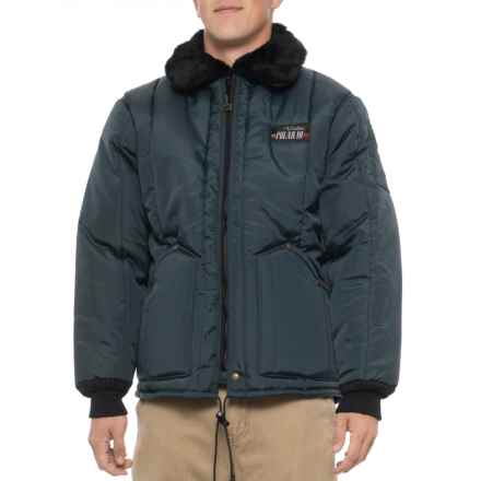 Walls Bomber Jacket - Insulated (For Big and Tall Men) in Navy - Closeouts