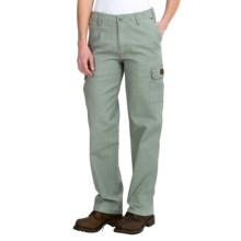 Walls Cotton Cargo Pants - Relaxed Fit (For Women) in Sage Green - Closeouts