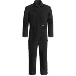 Walls Cotton Duck Coveralls (For Men) in Black