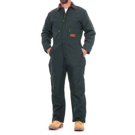 Walls Coveralls - Insulated (For Men) in Navy - Closeouts