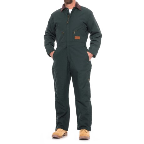 Walls Coveralls - Insulated (For Men) in Navy