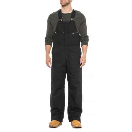 Walls Duck Bib Overalls - Insulated (For Men) in Black - Closeouts