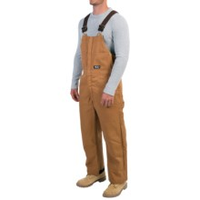 Walls Duck Bib Overalls - Insulated (For Men) in Pecan - Closeouts