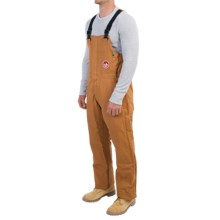 Walls Fire-Resistant Bib Coveralls - Insulated (For Men and Big Men) in Brown - Closeouts