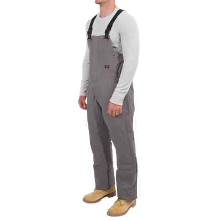 Walls Fire-Resistant Bib Coveralls - Insulated (For Men and Big Men) in Gray - Closeouts