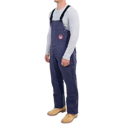 Walls Fire-Resistant Bib Coveralls - Insulated (For Men and Big Men) in Navy - Closeouts