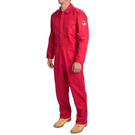 Walls FR Midrange Industrial Coveralls - Flame-Resistant (For Men) in Safety Red - Closeouts