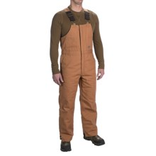 Walls Heavyweight Duck Bib Overalls - Insulated (For Men) in Brown - Closeouts