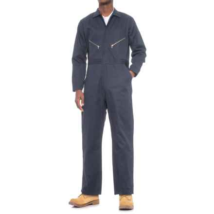 Walls Master Made Duck Coveralls - Unlined (For Men) in Navy - Closeouts