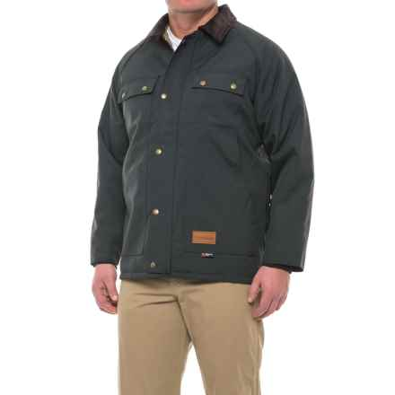 Walls Master Made Quilt-Lined Duck Jacket - Insulated (For Men) in Navy - Closeouts