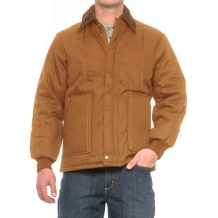 Walls Quilted Duck Jacket - Insulated (For Men) in Brown - Closeouts