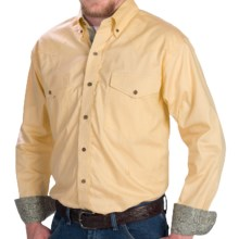 Walls Ranchwear Chambray Oxford Shirt - Button Front, Long Sleeve (For Men) in Butter - Closeouts