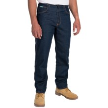 Walls Ranchwear Liberty Carpenter Jeans - Straight Leg (For Men) in Rinsed Denim - Closeouts