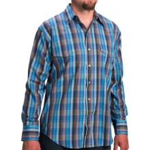 Walls Ranchwear Stripe Plaid Shirt - Button Front, Long Sleeve (For Men) in Gentleman Blue Plaid - Closeouts
