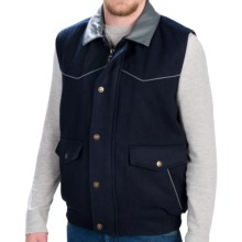 Walls Ranchwear The Michael Vest (For Men) in Navy - Closeouts
