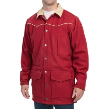 Walls Ranchwear Wool Cutter Coat (For Men) in Red - Closeouts