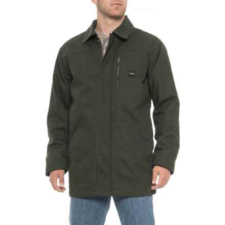 Walls Sherpa-Lined Duck Shore Coat - Insulated (For Men) in Green - Closeouts