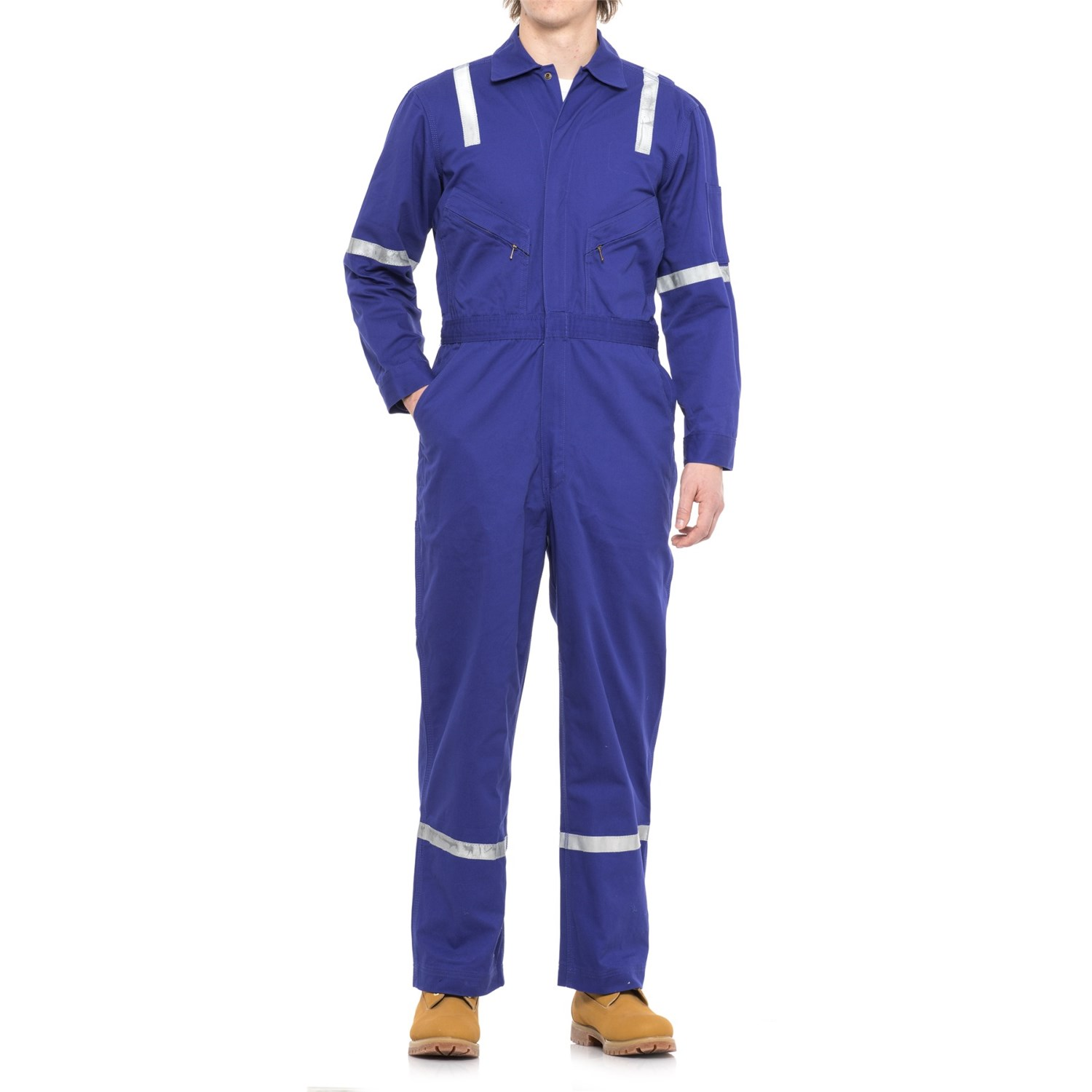 Walls Unlined Twill Uniform Coveralls (For Men) in Blue ...