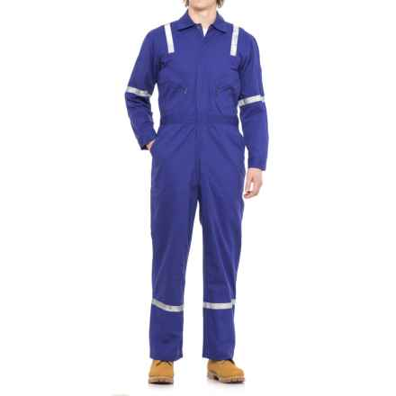 Walls Unlined Twill Uniform Coveralls (For Men) in Blue - 2nds